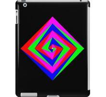 Angled Color Spiral iPad Case/Skin