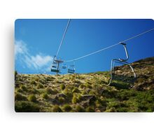 Chairlift in Stanley, Tasmania Canvas Print