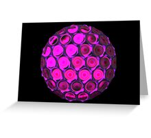 Honeycomb ball Greeting Card