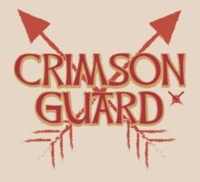 CRIMSON GUARD sigil with arrows crossed  T-Shirt