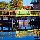 Fenelon Falls Locked In Colour by graystorms