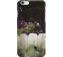 Climbing the Fence iPhone Case/Skin