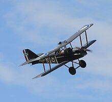 WWI SE5 Biplane by emergentdesigns