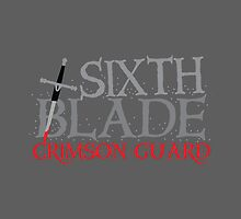 SIXTH BLADE crimson guard  by jazzydevil