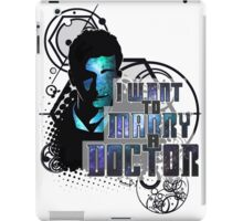 Marry a Doctor Tennant iPad Case/Skin