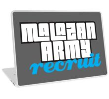 Army recruit Laptop Skin