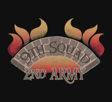 Bridgeburners armies regiments DISTRESSED  Kids Tee