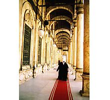 Going to the Mosque  Photographic Print
