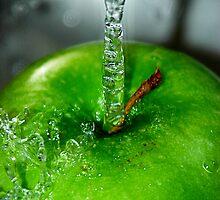 Wet Apple by Lindsay Dean