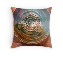 Stoneware plate Throw Pillow