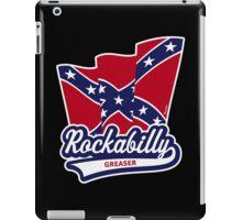 Rockabilly Greaser Flag iPad Case/Skin