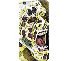 Screaming Zombie - Colourised iPhone Case/Skin