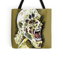 Screaming Zombie - Colourised Tote Bag