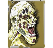 Screaming Zombie - Colourised iPad Case/Skin
