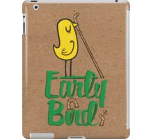 Early Bird iPad Case/Skin