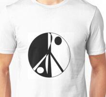 Ying, Yang, Peace Unisex T-Shirt