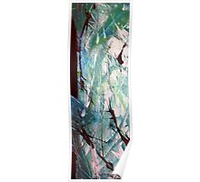 Worth It Abstract Acrylic Painting Poster
