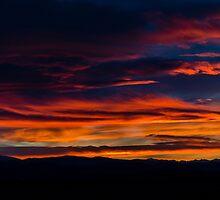 Broncos Sunset by Jon Burch
