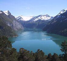 Geirangerfjorden by Jhonny Bakken