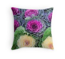 Cabbages and Kings Throw Pillow