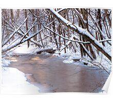 Snowy Stoney Creek Poster