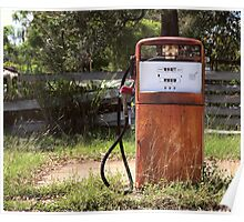 Old fuel stop Poster