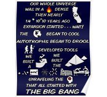 BIG BANG THEORY THEME SONG Poster