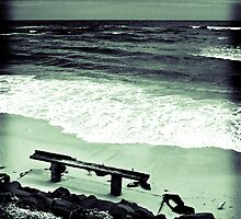#1 B Seated Series - Get Beached by Natsky