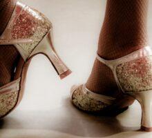 Dancing feet Sticker