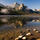 Stanley Lake, Sawtooth NRA by Albert Dickson