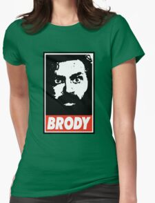 BRODY Womens Fitted T-Shirt