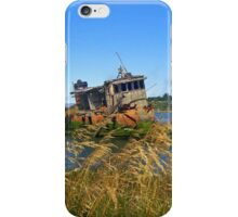 Memories of a sunken boat iPhone Case/Skin