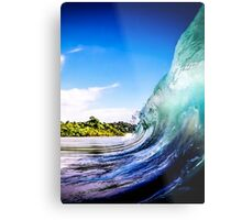Wave Wall Metal Print