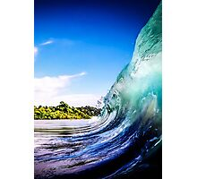 Wave Wall Photographic Print