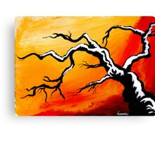 limbs outstretched... Canvas Print