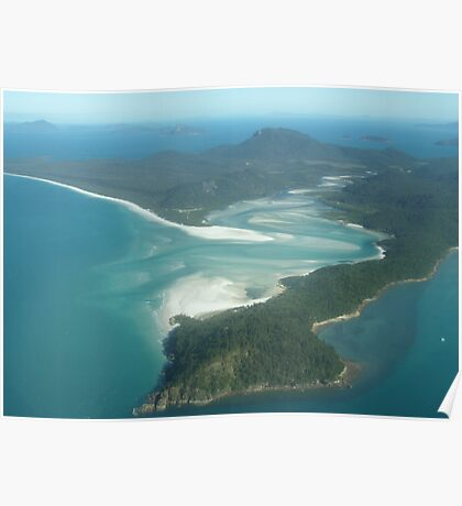 Hill Inlet- Whitsundays Poster