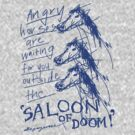 'Angry Horses Await' by ellejayerose
