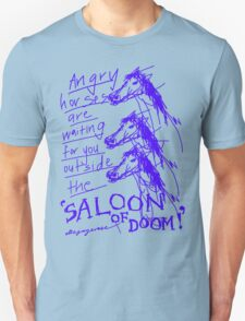 'Angry Horses Await' T-Shirt