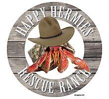 Happy Hermies Rescue Ranch Photographic Print