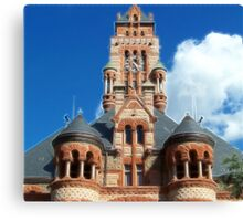 Ellis County Courthouse Canvas Print