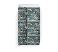 Opéra de Paris at Night Duvet Cover