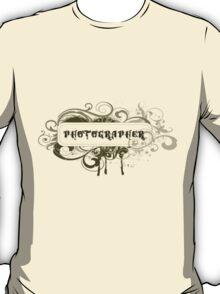 Photographer Grunge T-Shirt