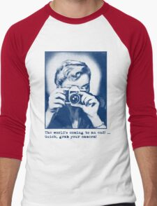 Grab your camera! Men's Baseball ¾ T-Shirt
