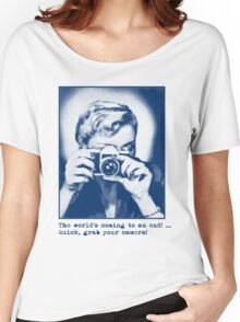 Grab your camera! Women's Relaxed Fit T-Shirt