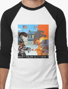 Ricky Spanish - The Dress Men's Baseball ¾ T-Shirt
