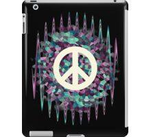 Hippie  White Symbol iPad Case/Skin