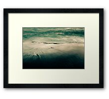 Flowing Into the Storm Framed Print