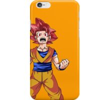 Super Saiyan God Goku iPhone Case/Skin