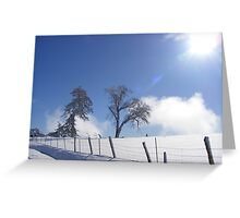 Stark Cold Greeting Card