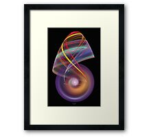 'Simple Abstract 012flip' Framed Print